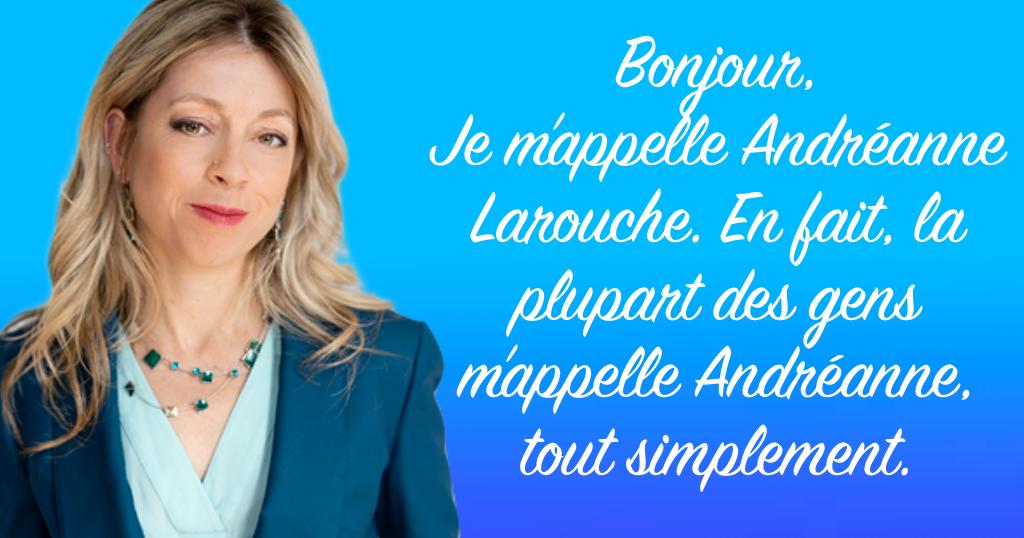Andréanne Larouche, députée du Bloc Québécois